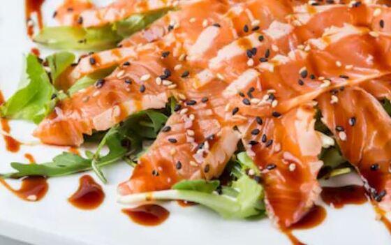 Tataki de salmón fácil
