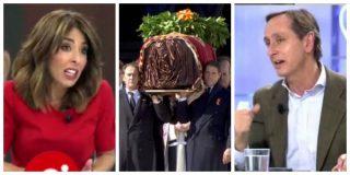 El Quilombo / Terradillos dice que la exhumación de Franco nos hará un país mejor y Cuesta la entierra con honores: