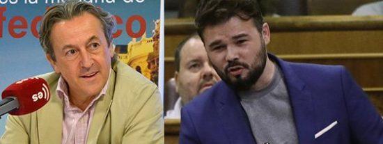 """Tertsch calla de un plumazo al 'bocachancla' de Rufián y, de rebote, al calculador Sánchez: """"Suerte tienes de que la Policía no esté en manos de un Gobierno decente"""""""