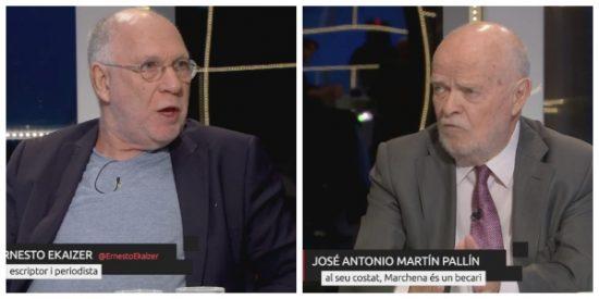 Ekaizer, Martín Pallín, Pérez Royo... los 'tontos útiles' del separatismo aterrizan en TV3 para cargar contra la opresora justicia española