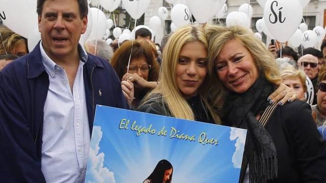 "Valeria, la hermana de Diana Quer, da un giro al caso de su padre: ""Mi madre está loca"""