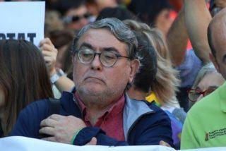Torra permite encabezar una manifa pro golpista a Carles Sastre, el terrorista que reventó el pecho de un bombazo al empresario Bultó,