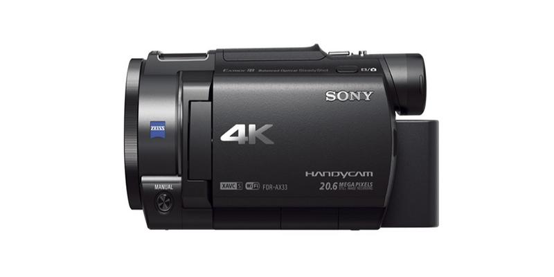 ¿Por qué la videocámara Sony Handycam FDR-AX33 4KUHD es una de las mejores y más económicas del mercado?