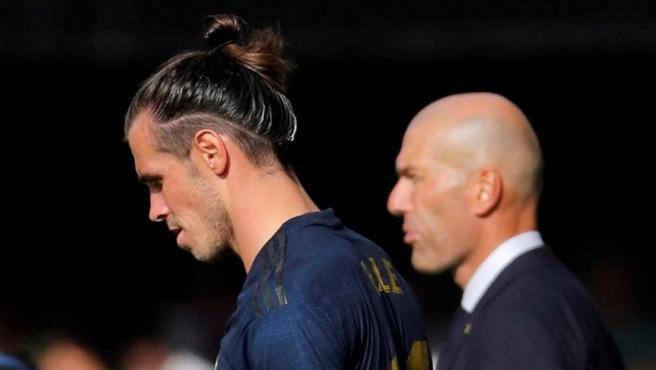 """Zidane no lo esconde: """"Quiero que Bale se quede aquí hasta final de temporada"""""""