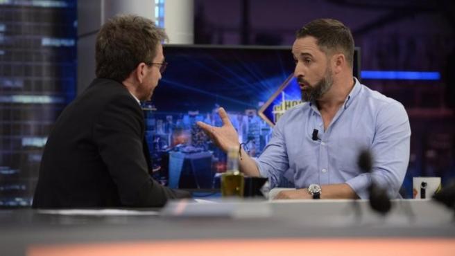 ¿Sabías que Abascal en 'El Hormiguero' fue lo más visto de octubre, mientras que el 'NoDo' de TVE (Podemos-PSOE) sólo llegó al 1,2% de audiencia?
