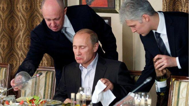 """Este es Yevgeny Prigozhin, el """"cocinero de Putin"""" millonario gracias a su trabajo para el presidente de Rusia"""