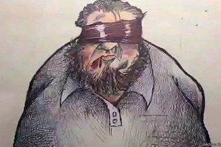 Así es Luis Cardona, el periodista que cuenta su secuestro con dibujos