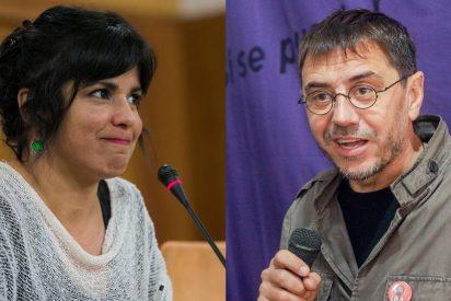 Cuchilladas en Podemos: 'Kichi woman' Rodríguez y 'Chavista' Monedero se enzarzan en Twitter a cuenta de la sentencia de los ERE