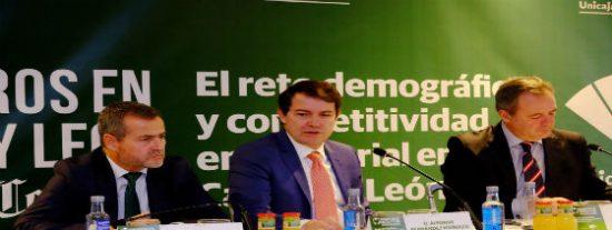 """Mañueco """"exige"""" un nuevo modelo de financiación"""