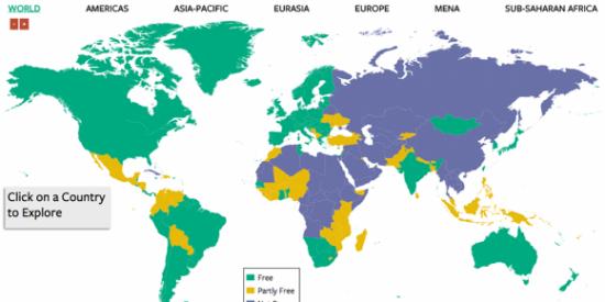 ¿Sabes qué países están todavía gobernados por dictadores?; casi todos de izquierdas y repúblicas...