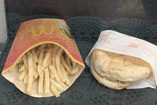 Así es la hamburguesa inmortal: el último pedido de McDonald's servido en Islandia hace 10 años y que sigue 'tan fresco'
