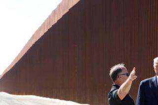 Los contrabandistas mexicanos usan simples sierras para cortar y pasar la nueva 'super barrera' fronteriza de Trump