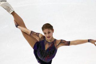 Le dan la medalla de oro a una patinadora estadounidense aunque la ganadora había sido una rusa