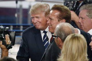 Trump insiste en acusar a Schwarzenegger de hundir su programa de televisión