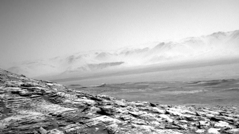 La NASA comparte un increíble paisaje rocoso de Marte en nuevas imágenes enviadas por el Curiosity