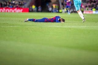 Un Barça sin ideas pierde en casa en la Champions frente al Slavia de Praga (0-0)