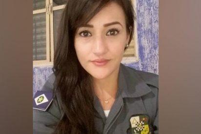 Vídeo viral: Esta valiente policía fuera de servicio dispara a un delincuente armado con un machete
