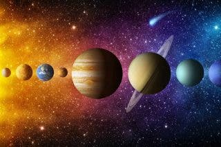 La animación que muestra cómo giran realmente los planetas del Sistema Solar