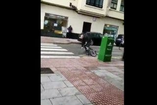 Vídeo viral: Mira lo que hace el viento en La Coruña
