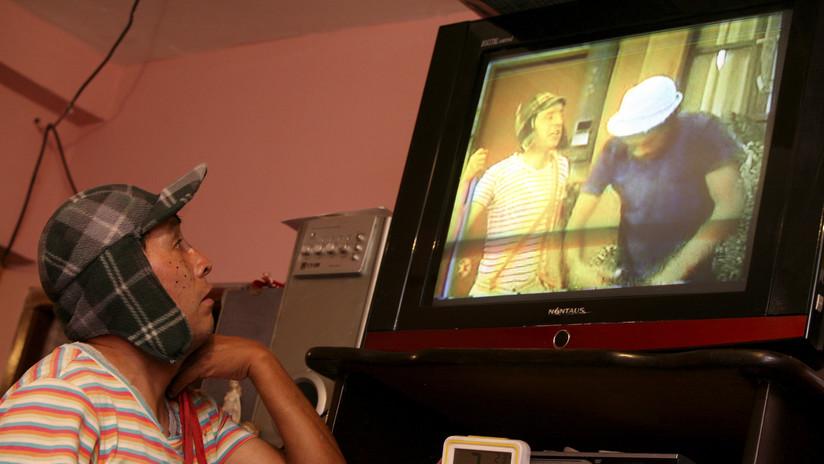 El nieto de 'Don Ramón' publica esta imagen inédita del elenco de 'El Chavo del 8'