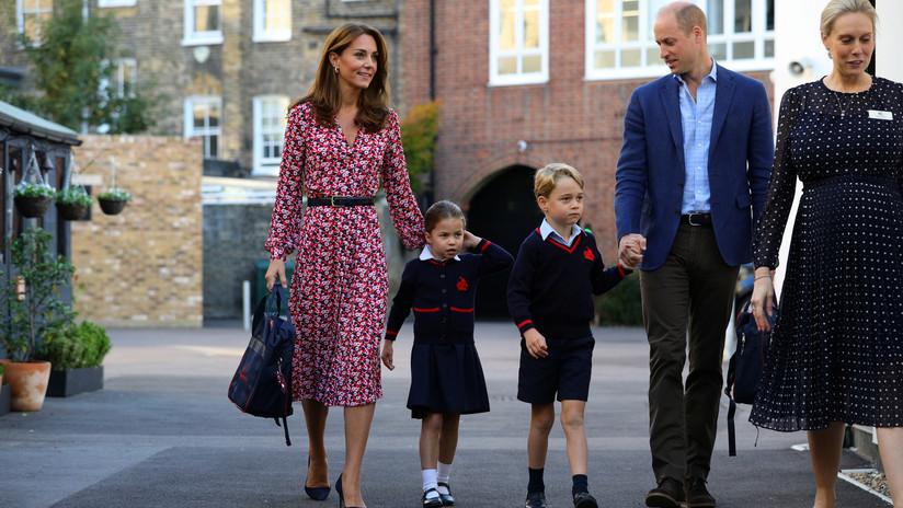 Guillermo y Kate Middleton reprenden a un locutor de radio por burlarse de su hija en directo