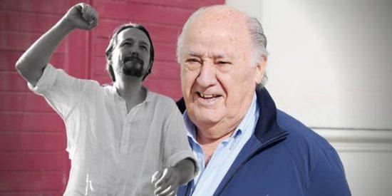 Los números de Amancio Ortega que dejan en ridículo al millonario Pablo Iglesias