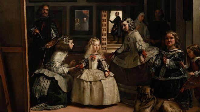 Pintura artística Velazquez