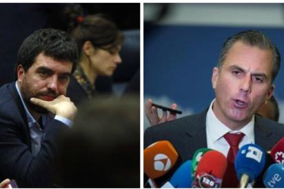 """Martínez Abarca (Más Madrid) llama """"mierda y cobarde"""" a Ortega Smith para hacerle la ola a la histérica marroquí Nadia Otmani y en Twitter le cae la del pulpo"""