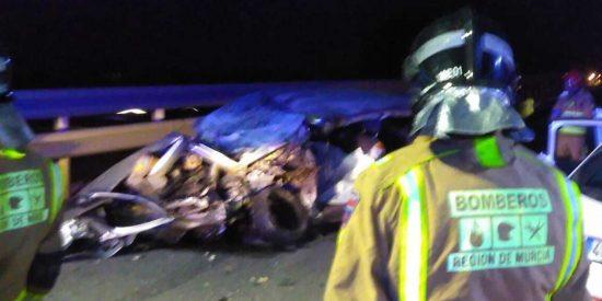 Un británico vestido de mujer era el kamikaze de Murcia muerto tras conducir en sentido contrario