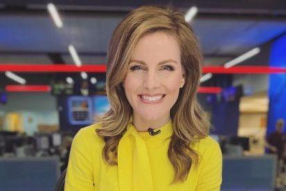 Esta reportera se llama Ali Meyer, tiene 40 años y cuatro hijas y se ha enterado de que tiene cáncer en pleno directo