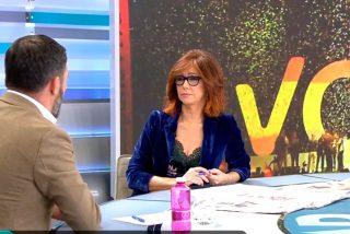 """Ana Rosa Quintana saca la cara por VOX: """"Ni son franquistas, ni son fascistas"""""""