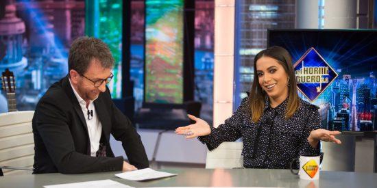 El escatológico comentario de la cantante brasileña Anitta en 'El Hormiguero' que le encantó al 'cochinete' Pablo Motos