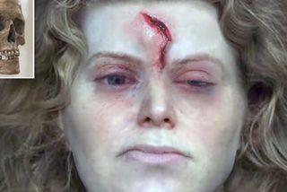 Así era la cara de una mujer vikinga de hace 1.000 años, según una recreación hecha por científicos a partir de sus restos
