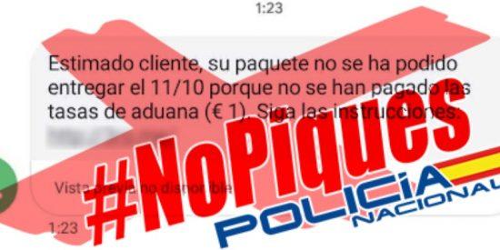 Policía Nacional y Guardia Civil alertan a los incautos: este falso mensaje de Correos es un timo para robarte el dinero