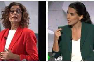 ¡Feminismo de palo! María Jesús Montero (PSOE) justifica la agresión a una militante de VOX ante una Monasterio que se queda ojiplática