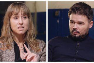 La 'rufianada' de Ana Pardo de Vera en el programa del bufonete de ERC: escupe todo tipo de exabruptos contra Vox