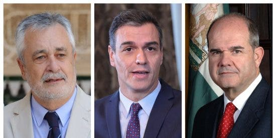 Alucinen con el mensaje 'honesto' de Sánchez dirigido a los socialistas Chaves y Griñán que ahora le deja con el culo al aire