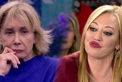 Belén Esteban no puede disimular sus 'celos' cada vez que se habla del concurso que está haciendo Mila Ximénez