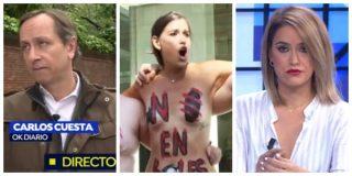 El Quilombo / La sindicalista 'stripper' de Espejo Público dice que VOX quiere hacer parir a las mujeres