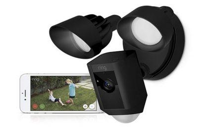 Si buscas una cámara de seguridad HD para tu casa, te recomendamos la Ring Floodlight Cam