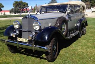 La historia del Mercedes-Benz G4, la fabulosa joya sobre ruedas que Hitler le regaló a Franco