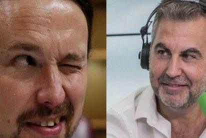 """Carlos Alsina deja en ridículo a Pablo Iglesias: """"¿Te crees que somos todos bobos o qué?"""""""