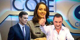 Inés Arrimadas revela a Carlos Herrera la cara oculta de la maniobra de Sánchez y sacude a Pablo Iglesias