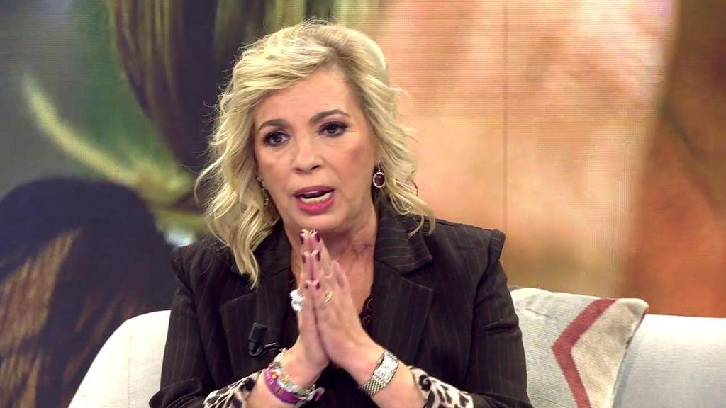 Carmen Borrego, ya no te quieren en Telecinco... La ruina absoluta de la hija de María Teresa Campos