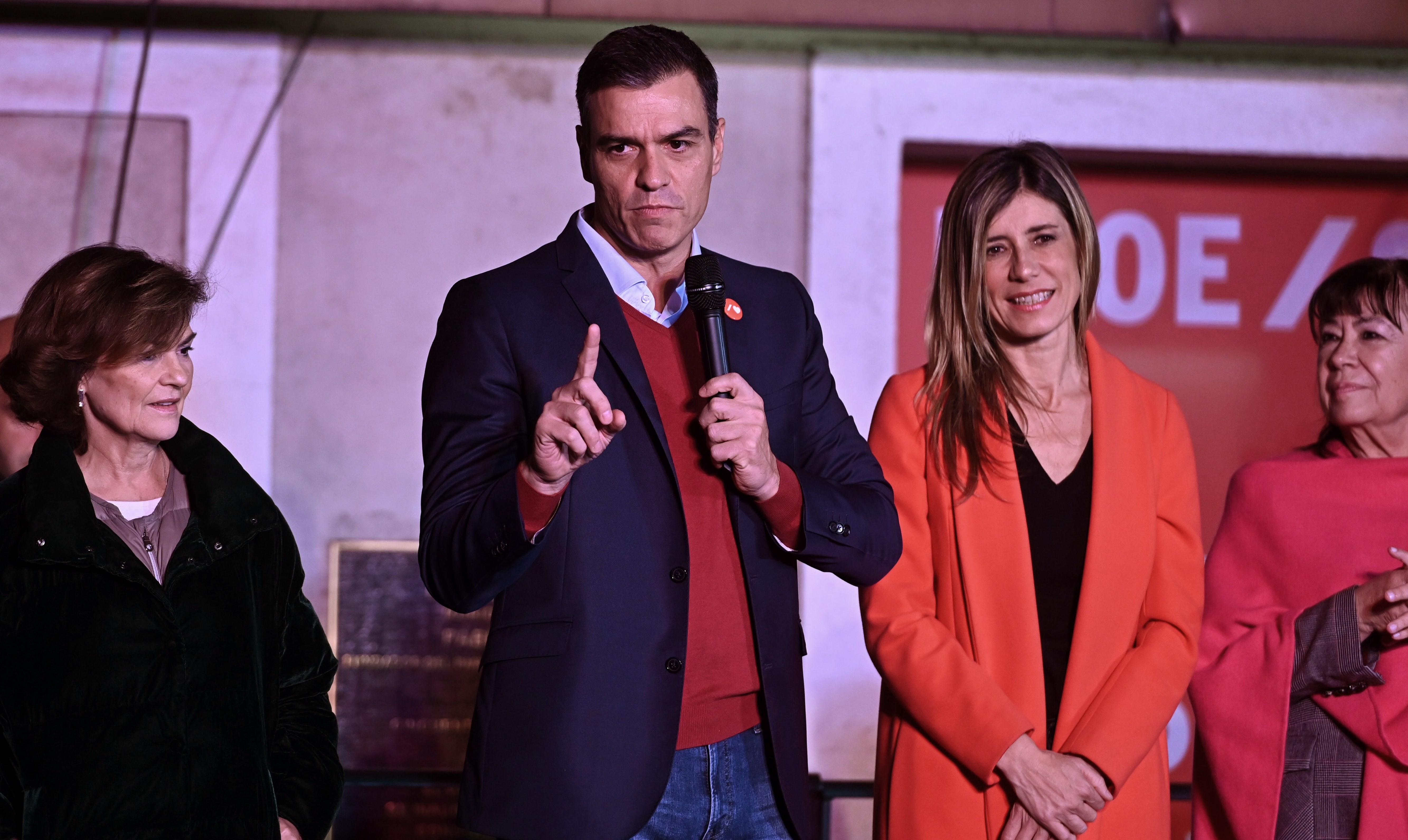 Sánchez enmierda España: El PSOE fracasa en las elecciones y queda en manos de los separatistas