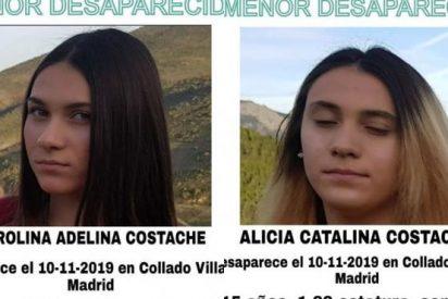 Localizan sanas y salvas en Rumanía a las dos hermanas de 15 años desaparecidas en Collado Villalba