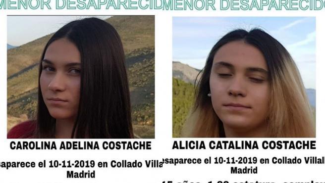 La Guardia Civil busca frenéticamente a dos niñas desaparecidas desde el pasado domingo en Collado Villalba