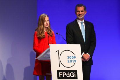 Leonor es hoy el orgullo de todos los españoles: cuatro idiomas para lanzar el mensaje más trascendental