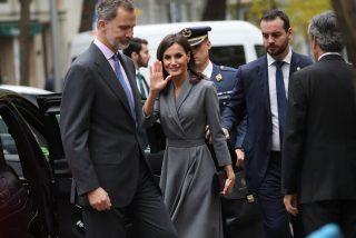 El cariñoso gesto público de Felipe VI a Doña Letizia que ha sorprendido hasta a la monarca
