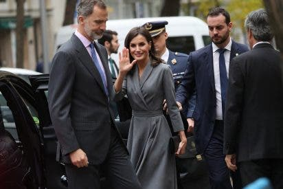 El cariñoso gesto público de Felipe VI con doña Letizia que ha sorprendido hasta a la propia Reina
